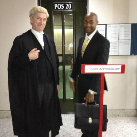 Dr Michael Powers QC called to the Bar of Trinidad & Tobago