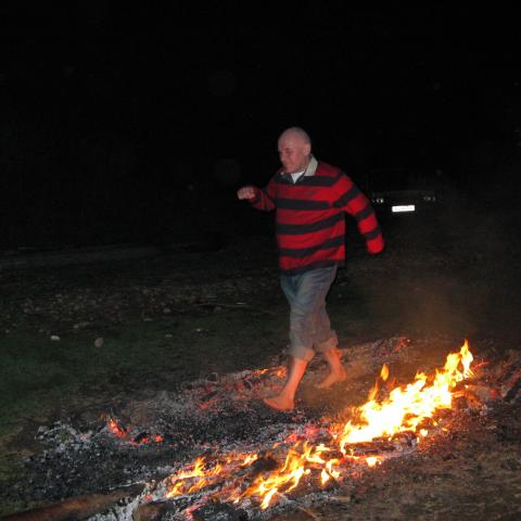 Barry Havenhand - Fire Walking